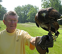 Falconry Participant Tom O'Dea